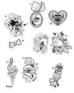Rekku Rescue Tattoo Lounge Flash Elena Animal Event