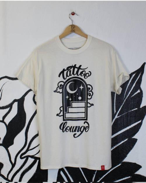 Tattoo Lounge Helsinki Studio White T-Shirt Logo